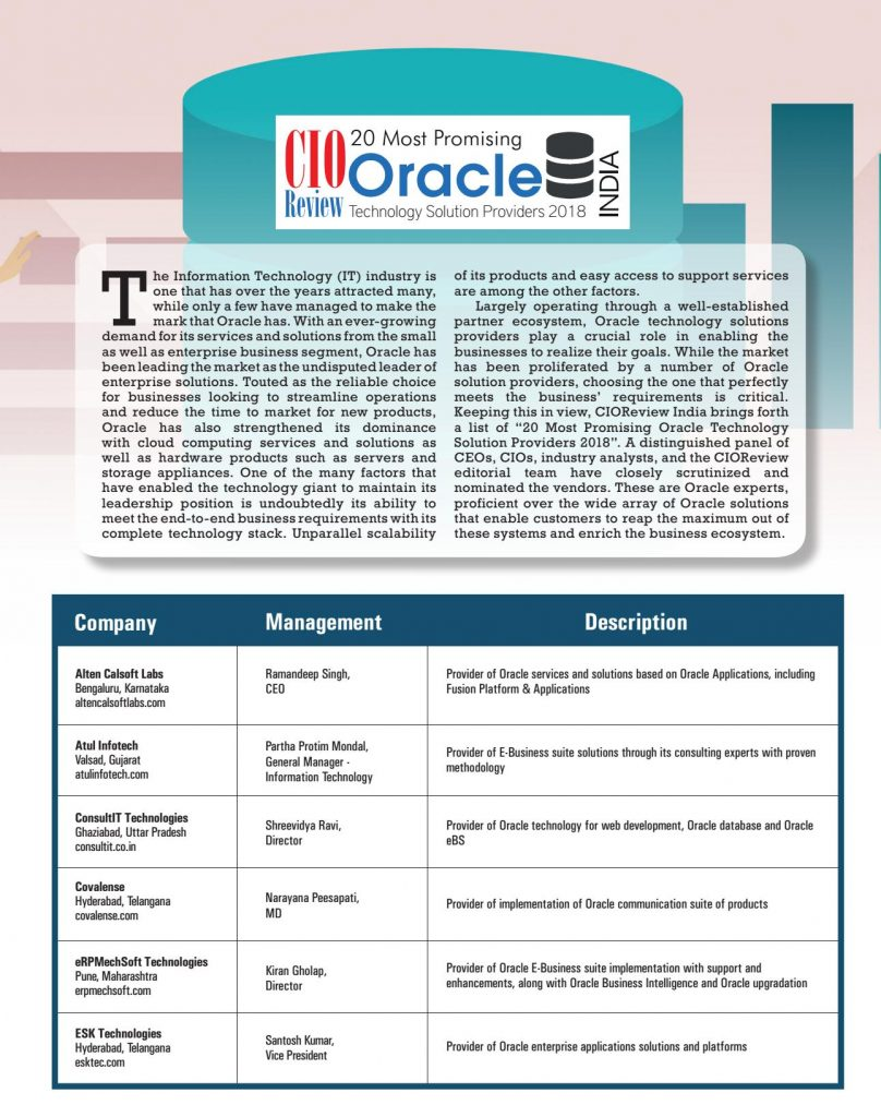 Cio review recognises IGUID as most promising oracle